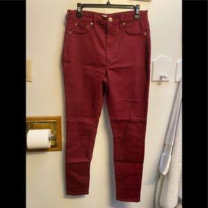🖤5/$20 NWOT GoJane Red Skinny Jeans
